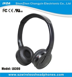 Wireless Bluetooth Headset Earphones with Remote Mic Volume for Apple iPhone 6 5 5s 5c 4 4s LB300-A