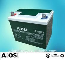 Sealed Deep cycle 12 Volt Solar Battery AGM Battery panasonic car Battery