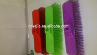 mechanical plastic broom,long plastic bristle,with good quality