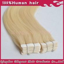 Elegant fashion human hair extension,elegant angel productions
