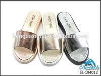 comfort fancy lady pvc jelly shoes 2014