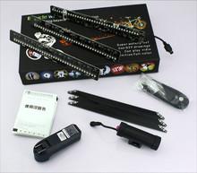 Full Color DIY Video Type ABS Shell battery power led wheel light led scooter wheel light