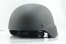 Military steel helmet , matte black tactical combat helmet , army tactical helmet