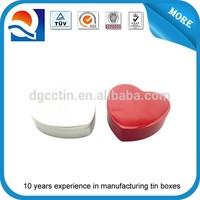 heart shaped tin gift box, heart shaped tin can, heart-shape tin box