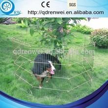 8-Panels Outdoor Metal Wire Dog Pen