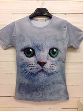 Popular Men Lovely and Funny Animal Printed Men's 3D T-shirts
