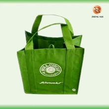 hot green eco friendly reusable non woven shopping bag
