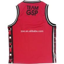 sleeveless compression padded custom basketball jersey