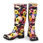 Made by Famous Multinational Brand OEM Women Rubber Boot