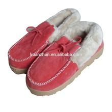 winter woman sheepskin slippers