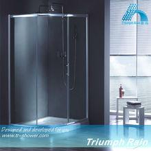 AQSC1804CL aluminum bathroom shower faucet set