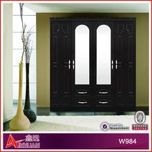 W984-48 bedroom wall wardrobe closet design