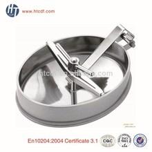 Stainless steel ss304 335mm* 435mm sanitary elliptical manhole cover
