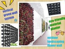 vertical plant wall planter , plastic flower pot, vertical garden system