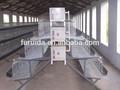 Allevamento di pollame attrezzature gabbie e voliere per uccelli, un tipo design strato di pollo gabbie di vendita
