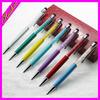 light metal ball pen jewel ball pen Customized ballpoint pen jewel ballpoint pen