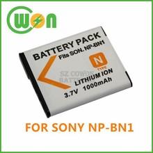 NP-BN1 BN1 Battery for Sony Cyber-Shot DSC-T99 DSC-TX5 TX7 TX9 DSC-W310 DSC-W320 W330 W350 W370 W380 W630 DSC-WX5