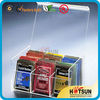 Clear divider acrylic tea bags and tea storage with lid