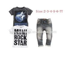 New Arrival children clothing sets,2pcs designs.Summer