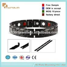 NAFULIN Power energy bracelet price health energy bracelet titanium magnetic power energy balance bracelet