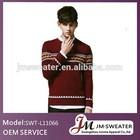 2014 Pop style men sweater wholesale clothing peru alpaca fabric