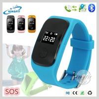 Factory Hot Kids Hand Wrist Watch Phone GPS Tracker Cell Phone Watch