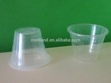 Hospital medicine cup 1OZ .