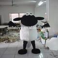 Hola de la historieta encantadora adultos de las ovejas traje de la mascota