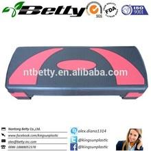 Fitness adjustable aerobic step