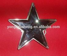 custom pentagramma progetto di metallo fibbia della cintura per le donne