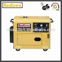 3.2KW AODISEN ZT3000S one cylinder, air cooled engine, single phase, key start, 296cc, hot sale, silent diesel generator