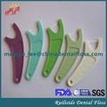 تصميم جديد يلتقط خيط تنظيف الأسنان مع الخيط ptfe سلسلة