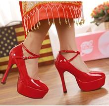fashion super high heel shoes13 cm lady shoes stiletto heel super stability slugged bottom women's shoes(M40005C)