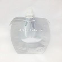 Apple aluminum drink spout pouch bag