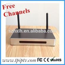 hot-sale arabic IPTV box live tv channels HD channels hd japan av video mini set top box arabic iptv