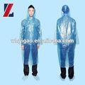 imperméable en plastique à long manteau de pluie pour hommes