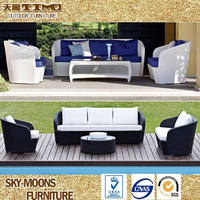 Outdoor All weather PE Resin Artifical synthetic rattan furniture (SF087)