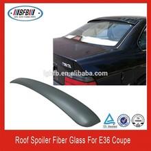 ROOF SPOILER FOR BMW E36 FIBER GLASS TWO DOOR
