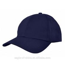 men blue 6-pannel baseball sports cap