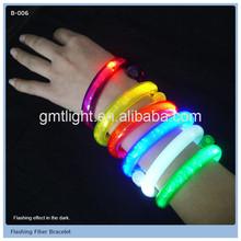 convenient wholesale sparkling colorful led lightemitting bracelet gift item new product