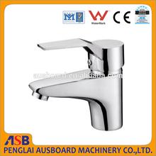 New design single lever 35mm brass wash basin faucet