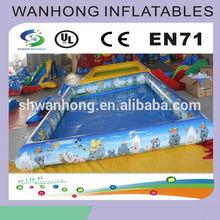 Cartoon inflatable pool , inflatable sand pool on sale