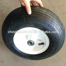 rubber wheel for hand trolley / cart small spoke wheels