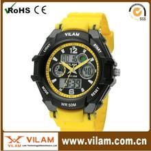 13016 Hot selling high quality clock wrist watch 3ATM Japan movement clock wrist watch
