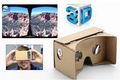Venta al por mayor realidad 3d gafas de google de cartón para el iphone 6