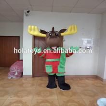 hola reno de navidad traje de mascota para la venta