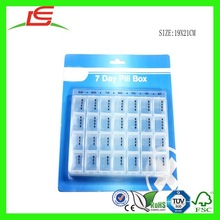 N461 Fancy 7 Day Pill Display Box