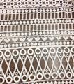 Novo leite de seda 100% poliéster laço químico/solúvel em água bordado têxteis laço para o vestido