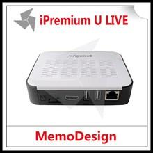 USA/Mexico/Canada IPTV Set Top Box Ipremium Ulive hd iptv recorder box