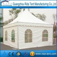 Guangzhou pagoda tent for sale 4x4 5x5 6x6 pagoda
